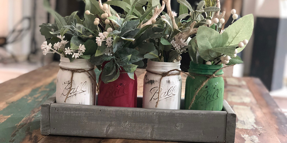 Adult Craft Night! Mason Jar Display OR Centerpiece Box