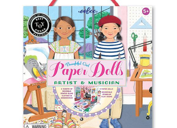 Paper Dolls: Musicians & Artists