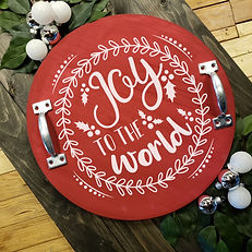 Round Tray Joy to the World Red.jpg