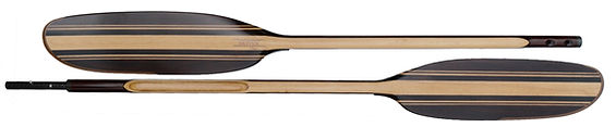 handcrafted wood kayak and paddle board paddles