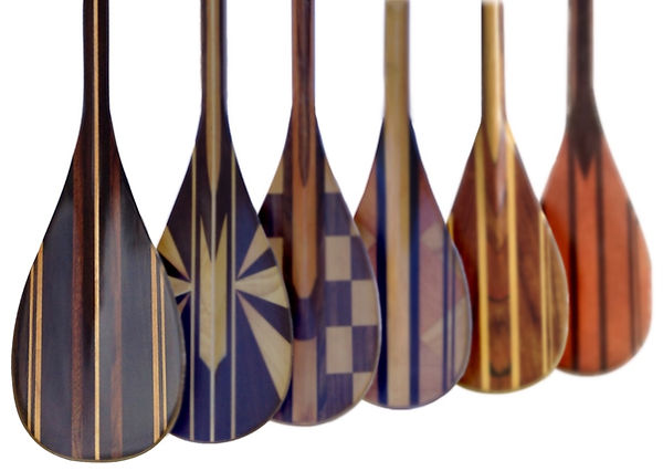 Deppen Paddles Wood SUP Canoe and Kayak Paddles
