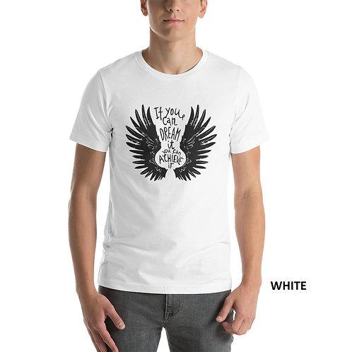 Wings Printed Half Sleeve Men's T-Shirt