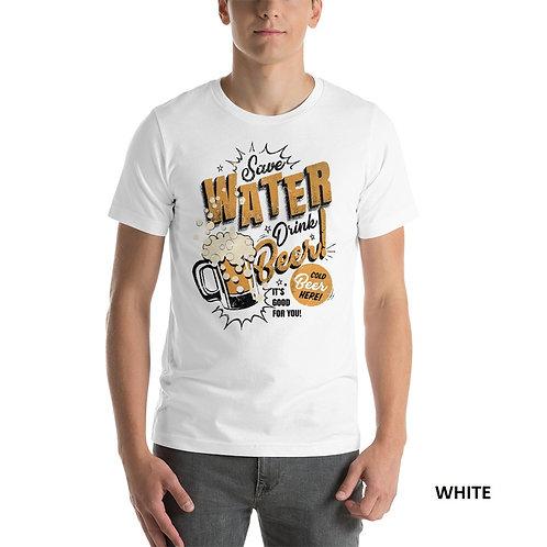 Beer Printed Half Sleeve Men's T-Shirt