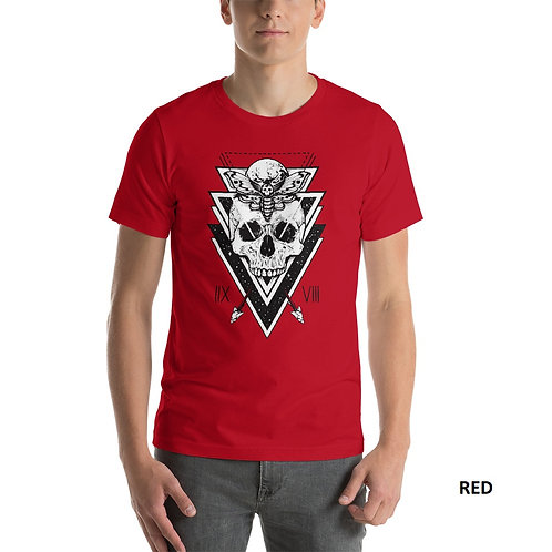 Skeleton Graphic  Printed Half Sleeve Men's T-Shirt