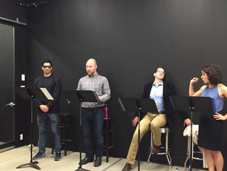 "Staged reading of ""Jung and Crazy"""