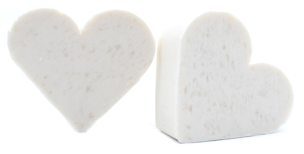 10x Heart Guest Soap - Coconut Scent