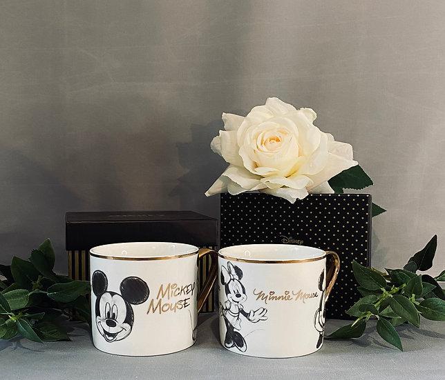 Minnie and Mickey Disney Classic Collection Mug Set