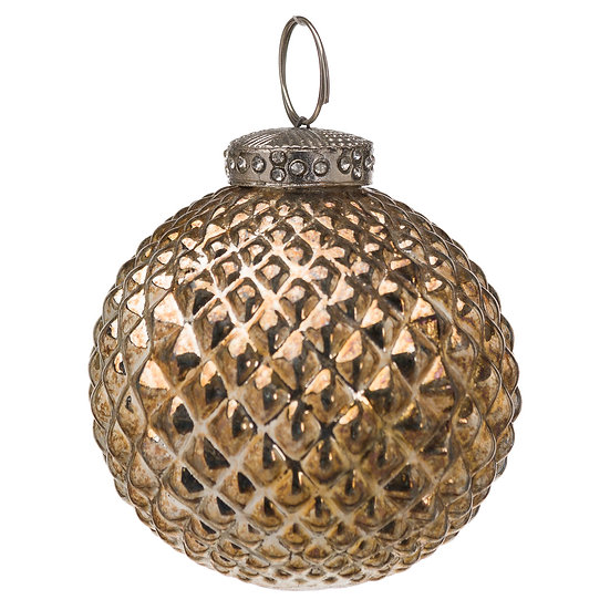 The Noel Collection Burnished Christmas Bauble