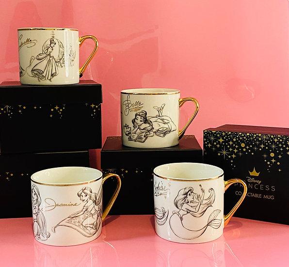 Disney Classic Princess Collection Mug Set