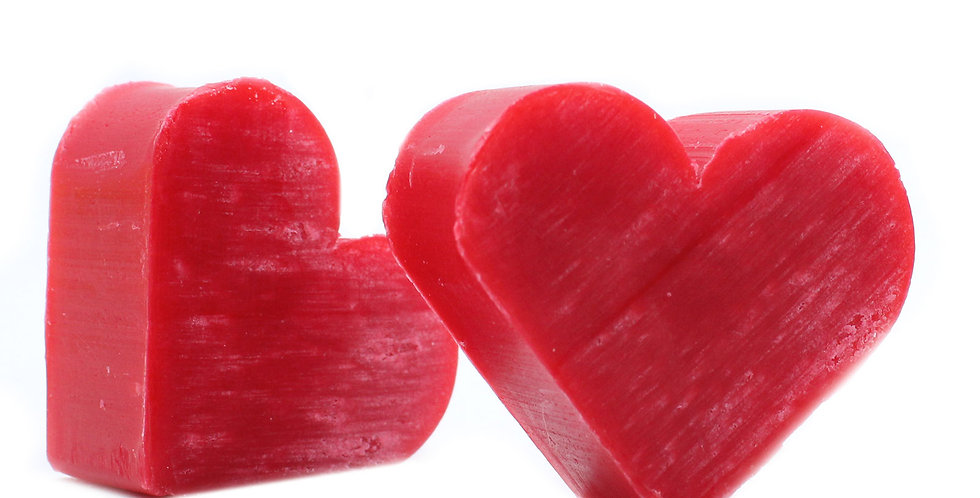 10x Heart Guest Soap - Raspberry Scent