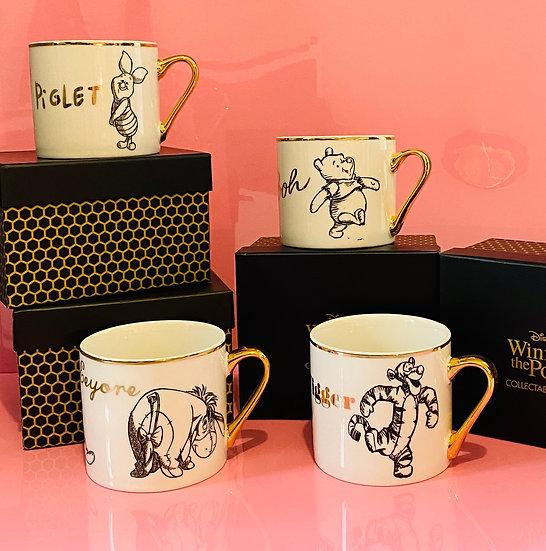 Disney Classic Winnie the Pooh Collection Mug Set