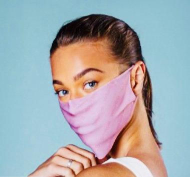 Bumppa Anti-Viral Face Mask Light Pink