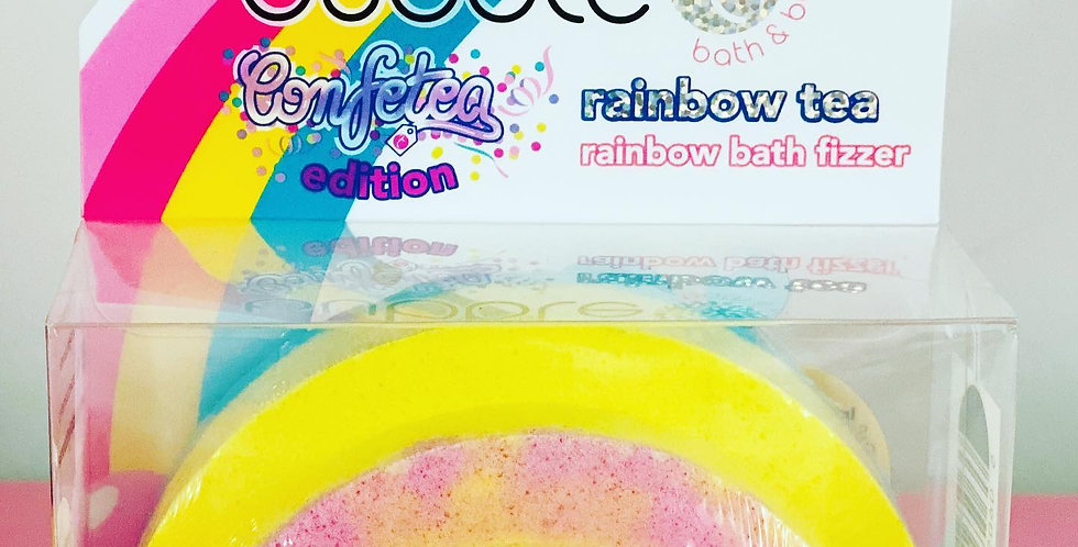 Bubble T Rainbow Bath Bomb