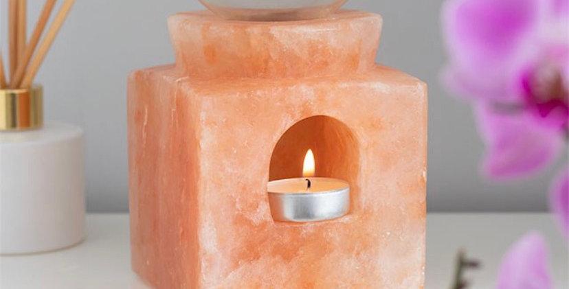 Cube Himalayan Salt Oil Burner
