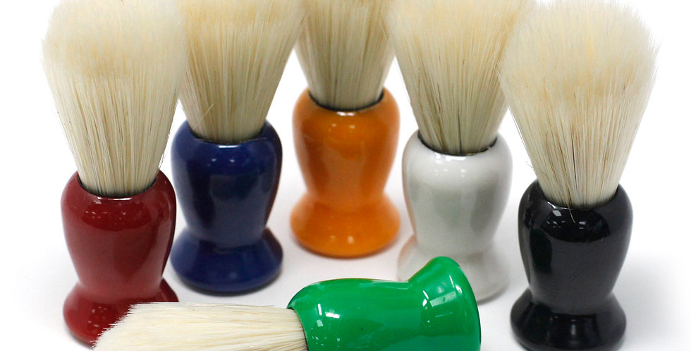 6x Old Fashioned Shaving Brush ( Asst Colours)