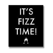 It's Fizz Time Metallic Detail Plaque