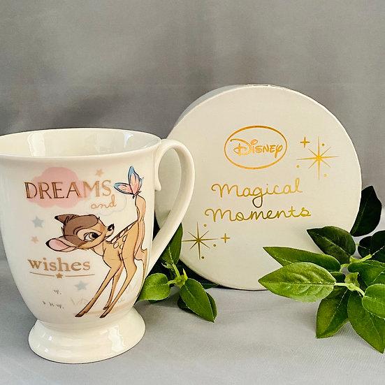 Disney Magical Beginnings Bambi Dreams and Wishes Mug