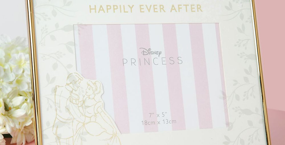Disney Happily Ever After Cinderella 7x5 Photo Frame