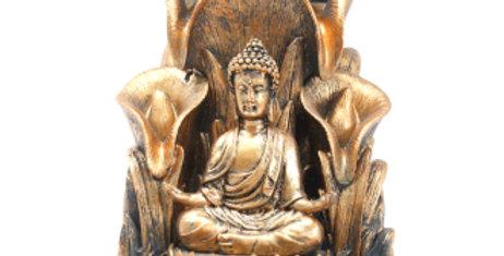 Bronze Budda Backflow Incense Burner