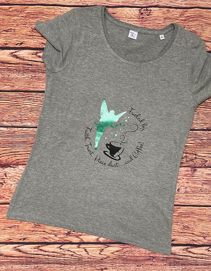 Disney Inspired Tinkerbell Ladies T-Shirt