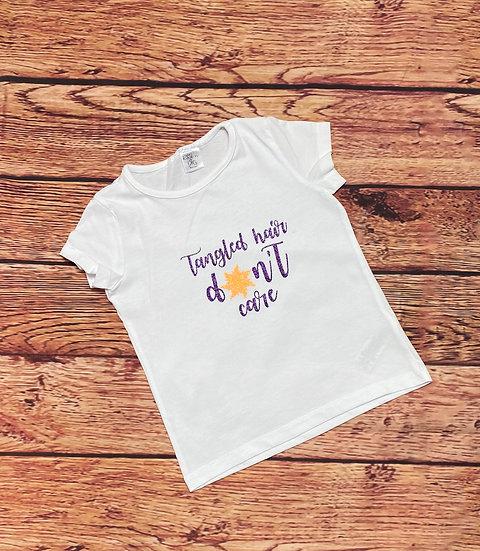 Disney Inspired Tangled Hair Girls T-shirt