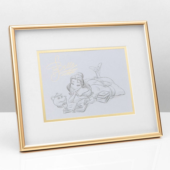 Disney Classic Collection Character Belle Print