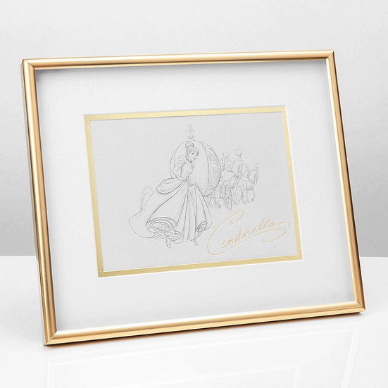 Disney Classic Collection Character Cinderella Print