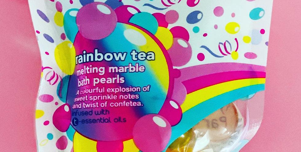Bubble T Confetea Melting Marble Oil Bath Pearls
