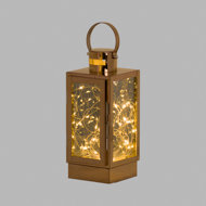 Copper Lantern With LED Micro Light