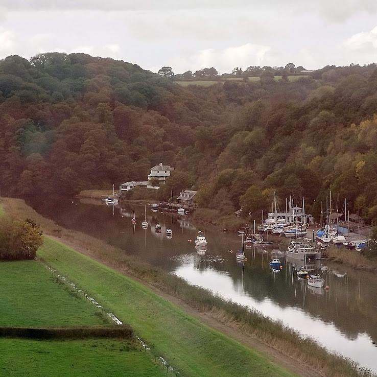 Best train journeys in Cornwall -The Scenic Tamar Valley Line.