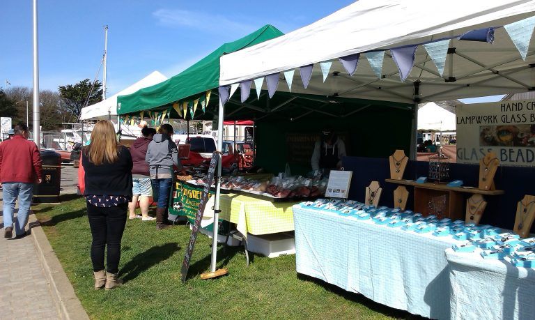 Whats on in Cornwall and Devon 2021 Bude farmers market