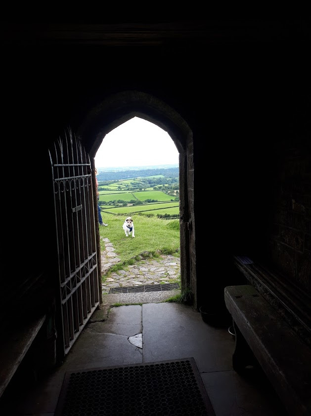 Impressive Brentor from St Michael of the Arch Angeel