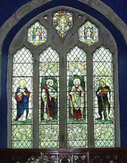 Walking in Cornwall - St Juliot's Church