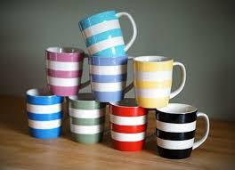 Cornish Gift Ideas - Multi coloured Cornishware