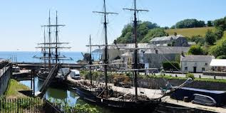 Love Cornwall, Charlestown Harbour, Tall Ships