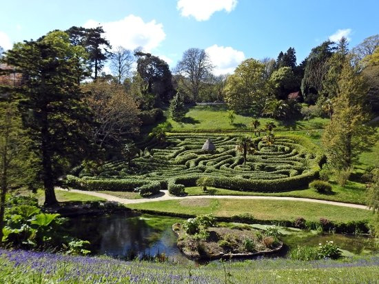 The delights of The Helford Glendurgan maze