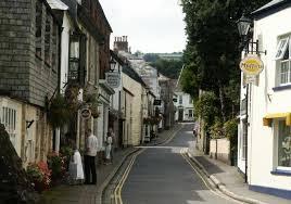 Lostwithiel in Quieter Cornwall