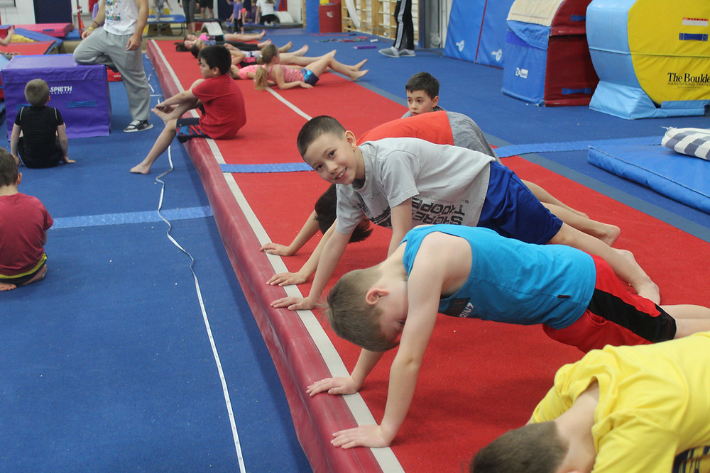 Recreational gymnasts Conditioning