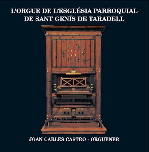 L' orgue de l'església parroquial de Sant Genis de Taradell