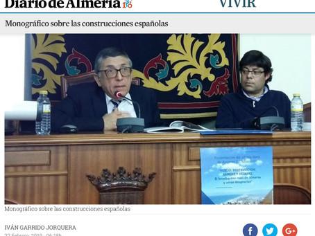 Reseña en el Diario de Almería