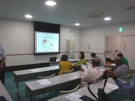 つくば市民生委員向け最新教育事情の講演会を開催。