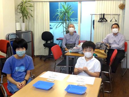 東京農大木村教授が見学に来られました。