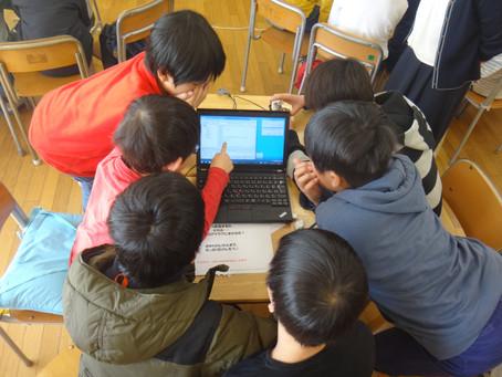 横浜市立幸ヶ谷小学校でロボットプログラミングの授業をやってきました。