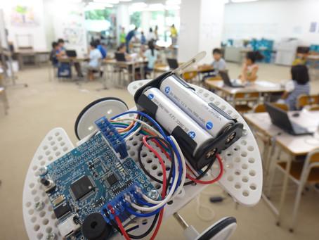 花まるグループにてロボットプログラミング教室