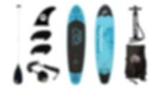 Pop'Bike Blue Paddle Board