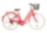 Vélo de ville Pop'Bike rouge