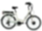 Vélo électrique Pop'Bike Blanc