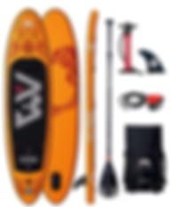 Pop'Bike Orange Paddle Board