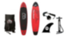 Pop'Bike Red Paddle Board