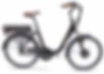 Vélo électrique Pop'Bike Marron